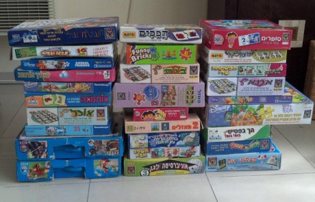 משחקים לילדים בגיל הרך
